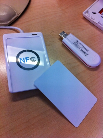 digartee NFC USB reader kit